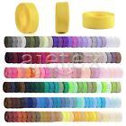 "10Meters 1""25mm Grosgrain Ribbon Craft Hair Bows Wedding Favor DIY Lots OBSRN29"