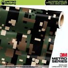 LARGE DIGITAL WOODLAND Camouflage Vinyl Car Wrap Camo Film Sheet Roll Adhesive