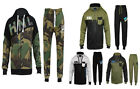 MENS FULL TRACKSUIT ZIP UP FLEECE MENS HOODIE GYM JOGGERS SIZE S M L XL