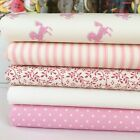 Little pony pink 100% cotton fat quarter bundle & fabrics sold per half metre