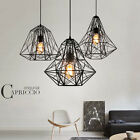 Modern Contemporary BLack Hanging Pendant Ceiling Light Lamp Lighting Fixture