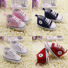 Infant Toddler Baby Boy Girl Soft Sole Crib Shoes Sneaker Newborn 0-18Months bs1