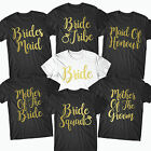 Hen  Party T Shirts Hen Do Bride To Be Tribe T-shirt Custom Personalised - BRD10