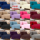 """EXTRA DEEP 16""""/40CM FITTED BED SHEETS POLY COTTON PERCALE BEDDING PILLOW COVERS"""