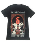 Shinedown - Cut The Cord Tour - Official Mens T Shirt
