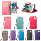 Wallet Diamond Embossing Leather Case Cover for iPhone 4 5 SE 6 6S Plus 7 7 Plus