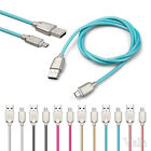 2A Fast Soft TPE Zinc Alloy Micro USB A to USB 2.0 B Data Sync Charger Cable 3FT