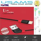 Iphone lightning cable USB charge genuine USAMS apple MFI sync 7 6 5