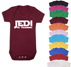 Jedi in Training Star Wars Inspired Baby Vest  Babygrow Baby shower gifts
