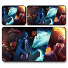 Ultra Thick 2mm Gaming Mouse Pad Silky Smooth Surface Lpatop Mats Stitched Edges