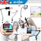 AU Multi 360° Rotating Lazy Bed Desk Stand Mount For iPad Mini Holder Tablet -MQ