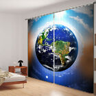 The earth from above 3d digital Blackout curtains