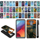 For LG G6 H871 H873 US997 VS998 AS993 Hybrid Bumper Protective Case Cover + Pen