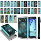 For Samsung Galaxy On5 G550 G500 Hybrid Bumper Shockproof Case Cover + Pen