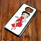 Betty Boop 167 Cover Back Phone Case Fits Samsung S4 S5 S6 S7 S8 EDGE PLUS