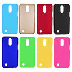 For LG Aristo MS210 LV3 K8 2017 Rubberized Matte Snap On hard case back cover