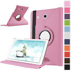 360° Rotating Stand Leather Smart Protection Case For Samsung Galaxy Tab A E S3