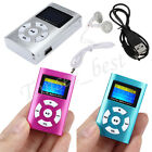 mp3 player lcd - USB Mini Digital MP3 Music Player LCD Screen Metal Support 32GB Micro SD TF Card