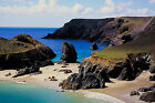 Kyannce Cove Beach Cornwall England Canvas Picture Sea Water Wall Art Print
