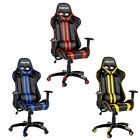 Sale Merax High Back Office Chair PU Leather Racing Gaming Chair Computer Desk
