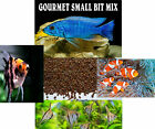 GOURMET SMALL BIT MIX ,Cichlid,Discus,Angel Fish Food,Carnivore,Tropical Fish
