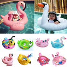 Inflatable Kids Baby Toddler Swimming Pool Swim Seat Float Boat Ring Fun Toys U