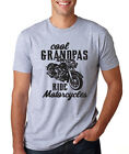 COOL GRANDPAS RIDE MOTORCYCLE riding gpa dad Father's Day gift T-Shirt