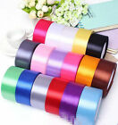25 Yards (40mm) craft Bows Satin Ribbon Wedding Party Craft Satin DIY hair Bow