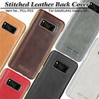 100% Genuine Pierre Cardin For Samsung Galaxy S8 S8 Plus Leather Back Cover Case