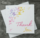 ---  Butterfly Thank You Cards -- 6 Pack - Butterfly Cloud Design ---