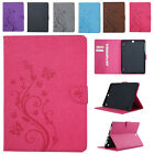 "Embossing Leather Magnetic Cover Smart Case for Samsung Galaxy Tab S2 9.7"" T815"