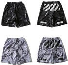 Off White Virgil Abloh Printed Sport Short Pants Mens Summer Beach Trousers New