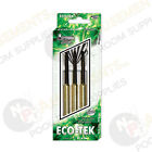ECO-TEC Steel Darts Brass Coating with Poly Flights & Nylon Shafts 20 or 22 Gram