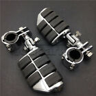 "1-1/4"" Highway Foot Pegs Engine Guard Mounts Clamps For Harley Davidson Touring $58.5 USD on eBay"