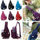 Women Nylon Large Capacity Daily Crossbody Waterproof Durable Chest Shoulder Bag