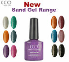 CCO UV LED NAIL GEL POLISH VARNISH  SOAK OFF NEW SAND GEL RANGE 12 COLOURS