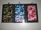 Authentic A Bathing APE BAPE ABC CAMO IPHONE 7 CASE GREEN BLUE PINK NEW