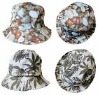 Bright Summer Bucket Hat Colourful Festival Summer Floral Neon Men Women