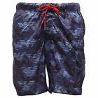 6236S costume boxer ARMANI JEANS  P51 LOOSE blu short uomo beachwear men