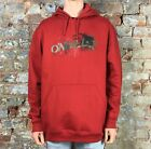 O'NEILL Hoodie Hooded Sweatshirt in Stone Red Size S,M,L,XL.
