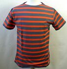 ARMOR LUX BRETON Grey and Red   T SHIRT NEW (Various Sizes) *