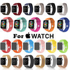 Sport Silicone Leather Milanese iWatch Strap for Apple Watch Bands