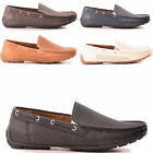MENS BOYS FASHION WORK SLIP ON LOAFERS MOCCASIN SUMMER CASUAL SHOES SIZE 6-11