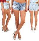 Levis High Waisted Shorts Frayed Women Denim Ripped Grade A Size 6 8 10 12 14 16