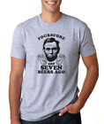 FOURSCORE & 7 BEERS AGO funny Father's Day 4th of July Abraham Lincoln T-Shirt