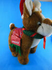 """Dasher Christmas Reindeer 10 X 11"""" Plush SUGAR LOAF 2006 Excellent condition"""