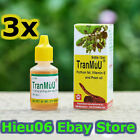 3 x TranMuU Python Fat 15ml (Skin medicines) burns, furuncle, scalds, dermatitis