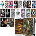For LG V10 H900 VS990 H901 H968 H961N Butterfly HARD Back Case Cover + Pen