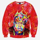 """Biggie Smalls"" Crewneck Hip-Hop Sweatshirt"