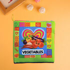 Infant Cloth Book Early Education Colorful Mental Development Activity Perceive